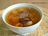 Sweet Seaweed Soup with Red Dates and Longan