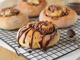 Chocolate Hazelnut Coconut Sweet Rolls
