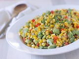 Corn and Lima Bean Succotash