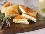 Goat Cheese Toasts with Garlic and Herbes de Provence