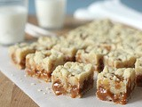 Gooey Caramel Butter Bars