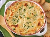 Leek, Cheddar and Guinness Dip