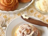 Orange Sweet Rolls with Cream Cheese Icing