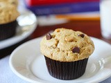 Peanut Butter Chocolate Chip-Peanut Butter Chip Muffins