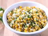 Sautéed Corn with Manchego and Lime