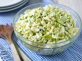 Tangy Apple-Cabbage Slaw with Blue Cheese