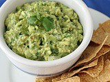 Tomatillo and Poblano Guacamole