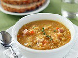 Yellow Split Pea and Ham Soup