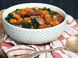 15 Minutes to Dinner [Smokey Sausage, Kale & Sweet Potato Soup - *sponsored*]