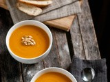 An Ode to Bread and Soup [Roasted Butternut Squash and Asian Pear Soup + No-Knead Bread]