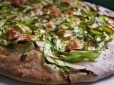 Do(ug)h!! [Shaved Asparagus Pizza]