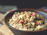Finding the Warmth [Apple Cinnamon Steel Cut Oats]