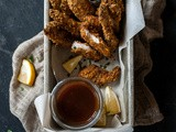 Fingers & Fries + Turkey Love [Honey Garlic Turkey Tenders with Sweet and Smoky Dipping Sauce]