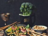 Heart & Home [Coconut Flank & Broccoli Salad with Peanuts and Basil]