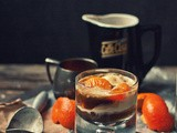 Holy Expletive! [Bourbon-Soaked Mandarin & Vanilla Affogato]