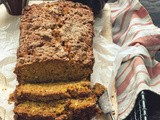 Losing the War on Breakfast [Coconut, Carrot & Pumpkin Spice Bread with Candied Ginger]