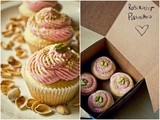 Milk Shop Blog Guest Post [Pistachio-Rosewater Cupcakes]