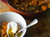 Simple Peasantries [Chipotle White Bean Stew with Sweet Potato & Kale]