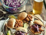 Slow Down. Eat Pork! [Coffee-Chipotle Pulled Pork Sliders]