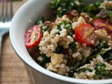The Sale of Kale [Kale and Quinoa Pilaf with Grape Tomatoes]