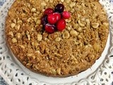 Cranberry Hazelnut Coffee Cake