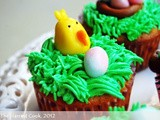 Easter Cupcakes & Homemade Fondant