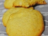 White Chocolate Macadamia Cookies (and an announcement)