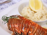 An Australian Christmas - Barbecued Lobster with garlic butter