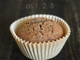 Gluten Free, Dairy Free cupcakes – as easy as 1, 2, 3