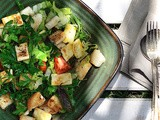 Haloumi and Herb Salad