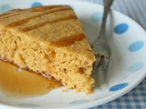 Saffron and Honey Breakfast Cake
