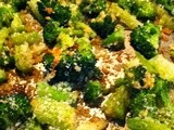 Best Roasted Broccoli and Cheese Ever