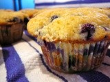 Blueberry, Boo Berry Muffins, 'Tis the Season for Spooks
