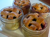 Blueberry Pies Baked in Jelly Jars (Easy tips for Pies in Jars)
