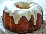 Cream Cheese Pound Cake for Sunday Dinner