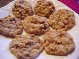 Crisp Oat Buttersotch Cookies
