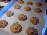 Deliscious Soft Chocolate Chip Cookies Made with honey