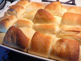 Easy as 1-2-3 Parker House Yeast Rolls, Light as a Feather and Delicious