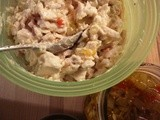 Easy Chicken Salad with My Homemade Pickle Relish