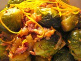Fresh Brussels Sprouts with Orange Zest