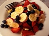 Fruit Plate Breakfast and the 9 Cup Diet for Health and Healing