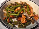 Green Beans and Chicken Stir Fry