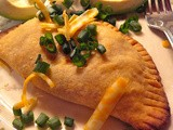 Hand Held Pies, Jar Pies, and Pot Pie with Savory Cheese Pastry and Taco Cheese Filling