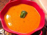 Homemade Cream of Tomato Soup with Fresh Tomatoes and Basil.......Yummmm