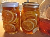 Meyer Lemons in Honey