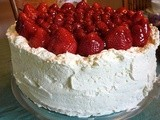 Mixed Berry & White Chocolate Butter Cream Cake.....a Knockout Cake Every Time i Make It