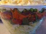 More Ice & Snow Inspires a Big Layered Salad for Supper