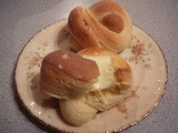 Orange Bow Knot Rolls (Yeast Rolls Softly Perfumed and Flavored with Orange!!)