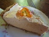 Orange Dreamcicle Pie, The easiet Pie i've Ever Made & Drop Dead Delicious
