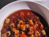 Pasta Fagioli My Way, Slow Cooker or Simmer on the Stove All Day, Serve Some Now and Freeze Base for Later